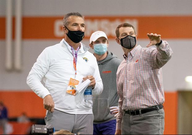 Here Was The Straight Forward Advice Dabo Swinney Had To Urban Meyer About Trevor Lawrence