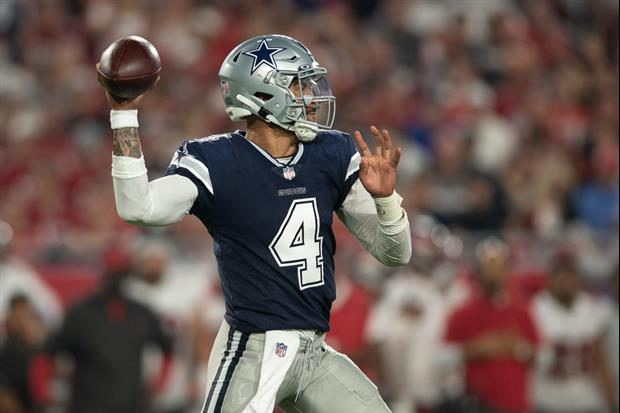 Here's What Dak Prescott Told Tom Brady After Awesome Cowboys Vs. Bucs Game