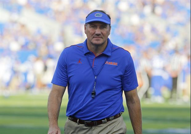 Steve Spurrier Has A Message For Florida Coach Dan Mullen After Breaking His Record
