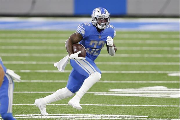Lions RB D'Andre Swift Pays Up On Alabama Vs. Georgia Bet