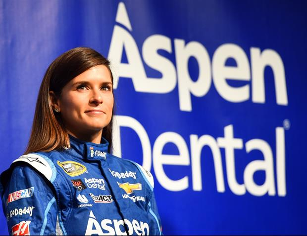 Danica Patrick Is Getting Really Good At Yoga