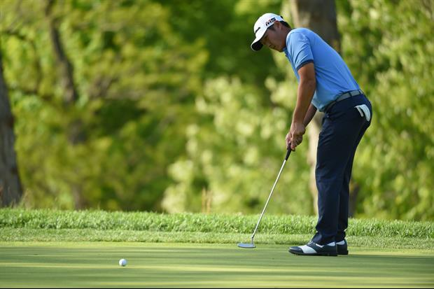 Watch Golfer Danny Lee 6-Putt on Winged Foot's 18th hole at the U.S. Open yesterday