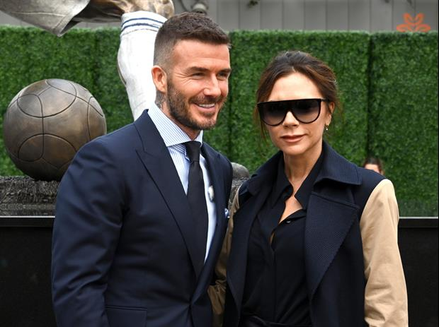 David Beckham & His Wife Victoria Have A Yacht Day With Elton John In France