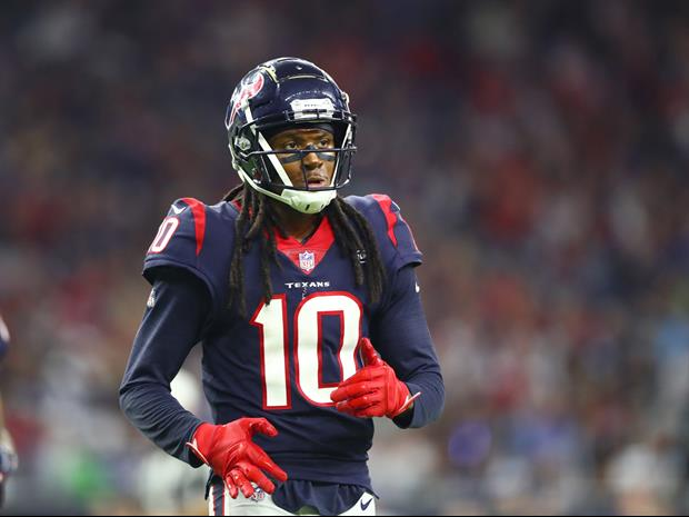 Here Was Texans WR DeAndre Hopkins' Response To His Unnecessary Roughness Penalty