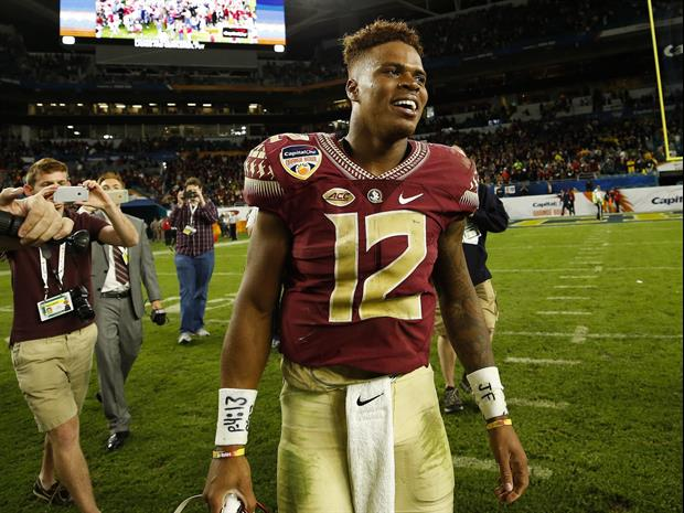 Florida State QB Deondre Francois took to social media to express his feelings about Jimbo Fisher le