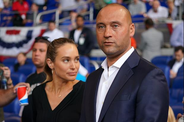 Former Yankee great Derek Jeter and his wife, Hannah, got all disco-ed out this weekend...