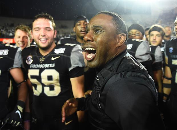 Vandy Coach Derek Mason Gave One Heck Of A Fired-Up Interview After Beating Missouri