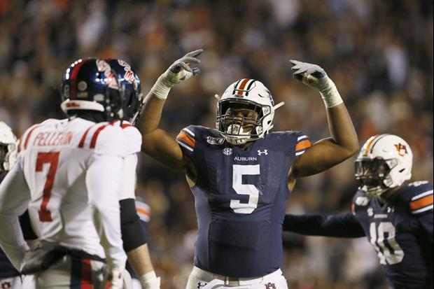 Auburn Players  KJ Britt and DB Jeremiah Dinson Called Out Their Fans After Beating Ole Miss