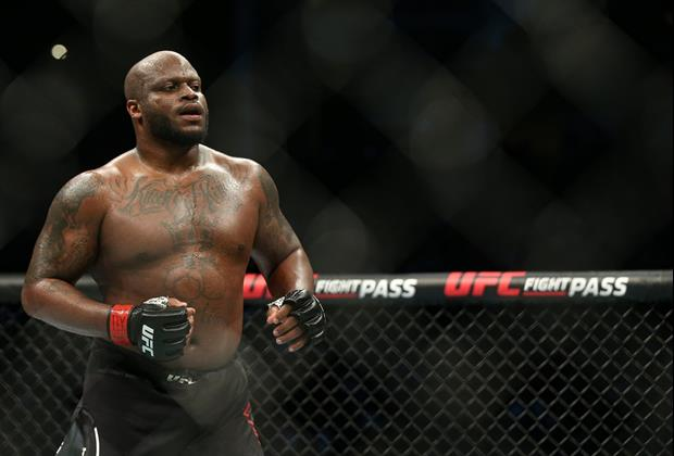 UFC Derrick Lewis Wins By KO, Then Tells ESPN Interviewer He Has To Go To The Bathroom