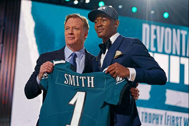 DeVonta Smith Talks About Playing With Jalen Hurts Again With The Eagles...