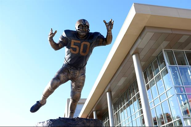 Dick Butkus At HIs Statue Presser: 'Sh*t I had fun knocking the sh*t out of people'