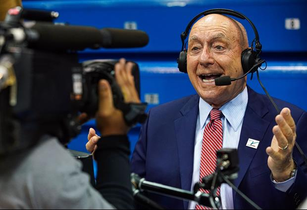 Dick Vitale Took Time During Ohio State Vs. Illinois Game To Muse About His Own Death