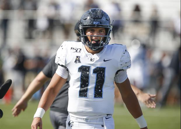 UCF's QB Dillon Gabriel Out Here Chirping At The Florida Gators After Saturday's Win