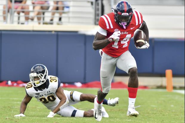 Ole Miss WR D.K. Metcalf Is One Big Dude Who Is Getting Even Bigger For The NFL Draft
