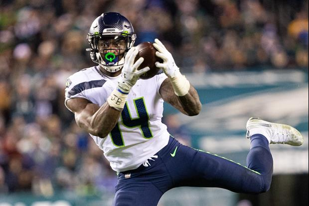 What Impresses Seahawks RB Marshawn Lynch Most About Seahawks WR D.K. Metcalf?