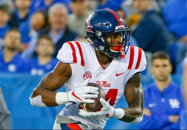 Ole MIss WR DK Metcalf Having Himself Quite The NFL Combine, Runs A 4.33 40-Yard Dash