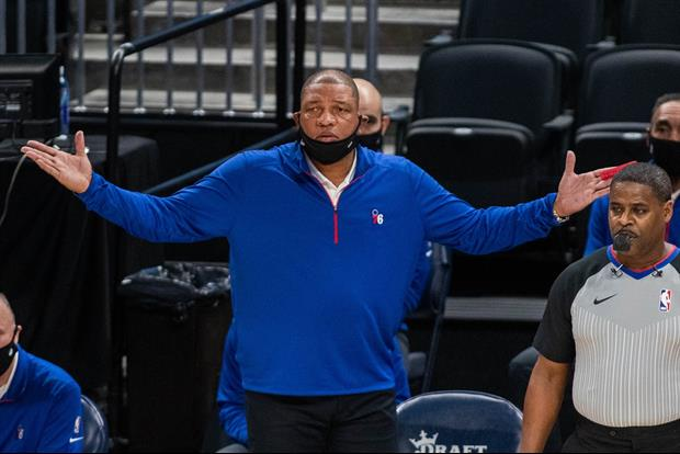 Doc Rivers Calls Out Sixers Reporter For Asking Him Questions From Bed
