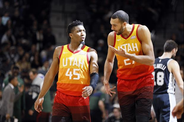 Donovan Mitchell Talks About Having No Symptoms & Being Upset With Rudy Gobert