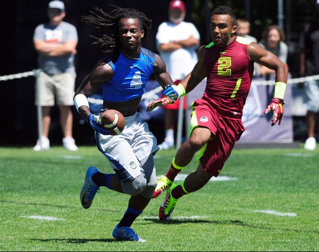 Four-star athlete Donte Jackson from New Orleans is considering LSU, Georgia and USC.