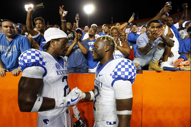 How Hard Did Kentucky Fans Celebrate After Beating Florida? This Hard...