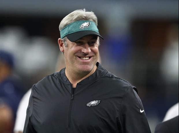 Watch Eagles Coach Doug Pederson Greet Every Single Player ...