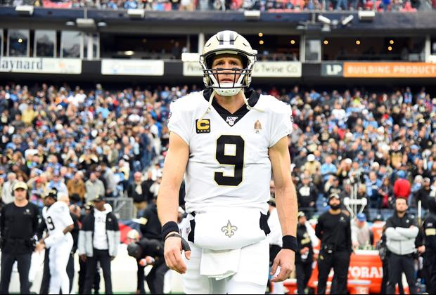 Drew Brees Reportedly Gave Tearful Apology To Saints Teammates