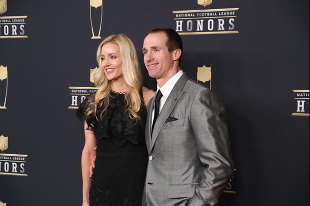 New Orleans Saints QB Drew Brees Posts Pic With His Wife Brittany Before His Surgery