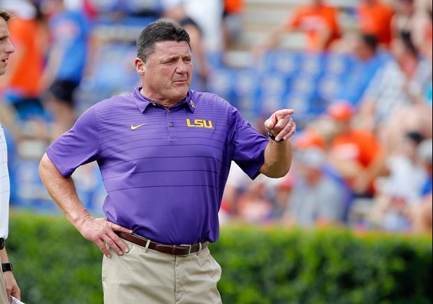 Here's Everything Ed Orgeron Said At His Monday Press ...