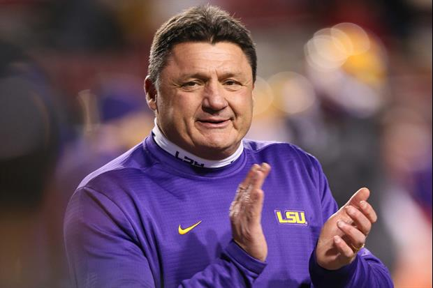 Ed Orgeron Comments On Crazy Coaching Search Between Him ...