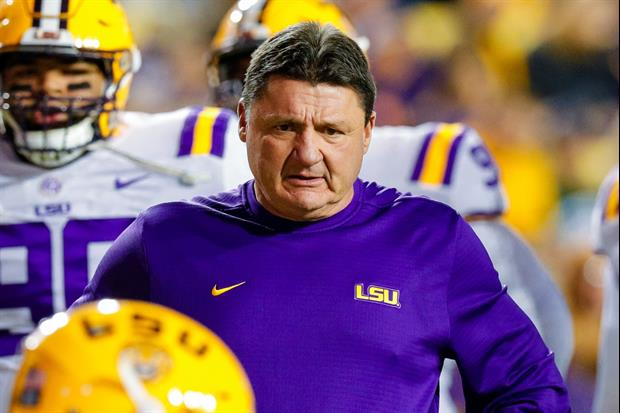 Ed Orgeron Talks About The Controversial Calls vs. A&M ...