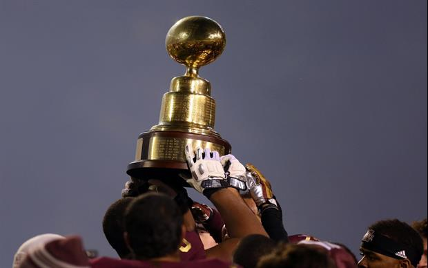 The Egg Bowl, the annual rivalry game between Mississippi State and Ole Miss, could be moving to Tha