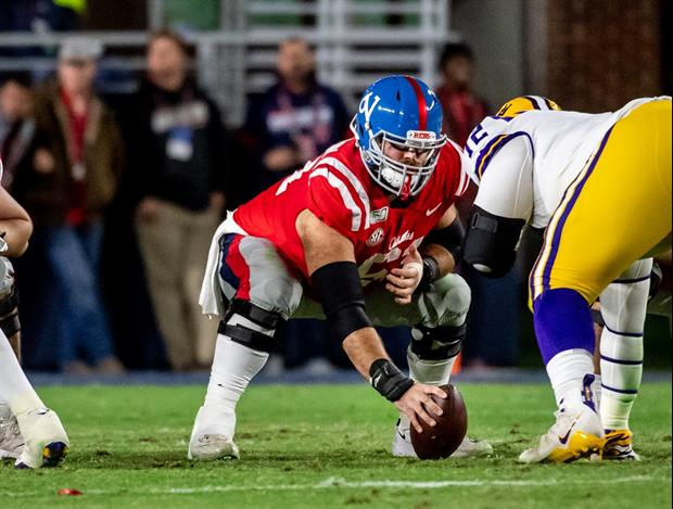Ole Miss center Eli Johnson revealed on Twitter that both of parents ave tested positive For COVID-1
