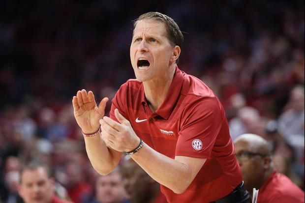 Arkansas Coach Eric Musselman Filmed Himself Coaching An Entire Game In An Empty Stadium
