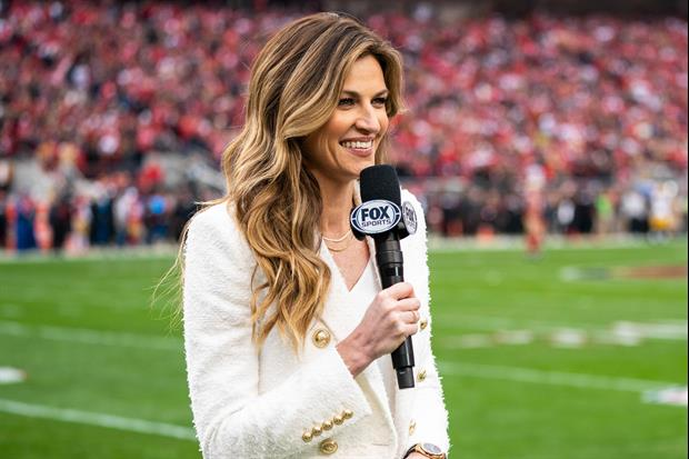 Watch FOX's NFL sideline reporter Erin Andrews Take An Uppercut From Her Dog