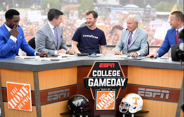 College Football Fan Bathed Himself In Mayo On College GameDay