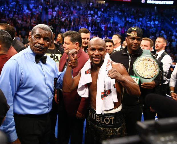 Here's Explanation On Why People Think Mayweather Bet On Himself To Win