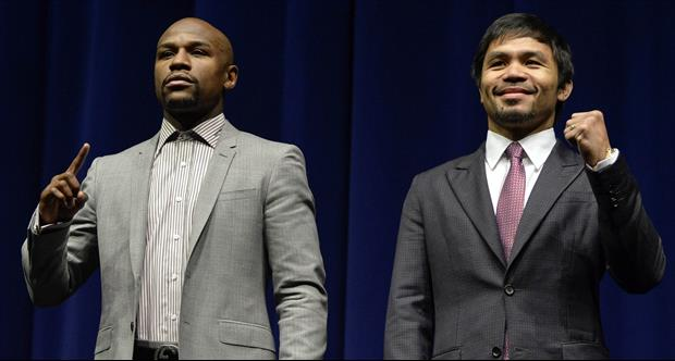 Manny Pacquiao Trolling Mayweather On Twitter Prior To Saturday's Fight