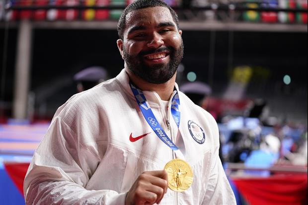 U.S. Wrestler Gable Steveson Comes Back With 2 Takedowns In 20 Seconds To Win Gold
