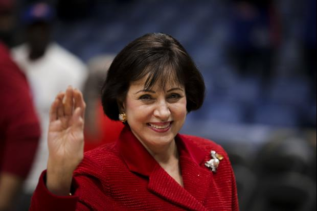 Gayle Benson, however, said she's sticking with the