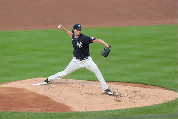 Yankees' Gerrit Cole Dealing With New Coronavirus Baseball Rules Yesterday Is A Fun Watch