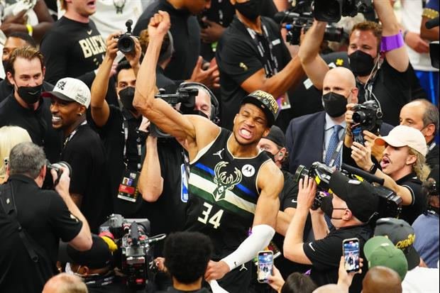 Giannis Antetokounmpo Celebrated This Morning By Ordering 50-pc Nuggets From Chick-fil-A