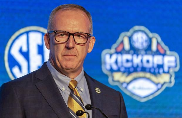 SEC Commissioner Releases Statement On Officiating During Football Games