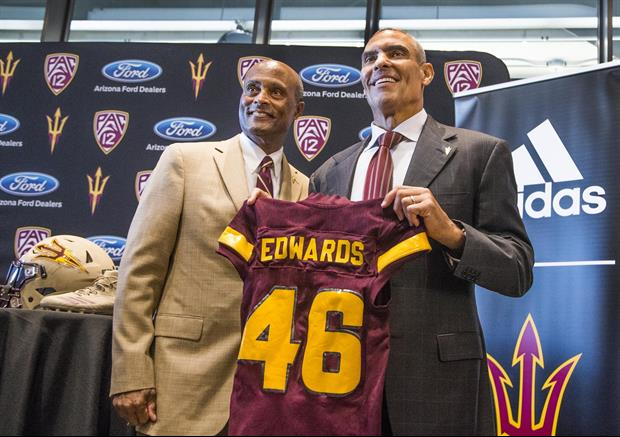 ASU's New Coach Herm Edwards Breaks Down Signing Day In One Quote