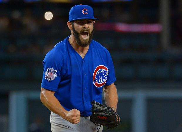 Dodgers Give Cubs' Jake Arrieta Cool Gift After No-Hitter
