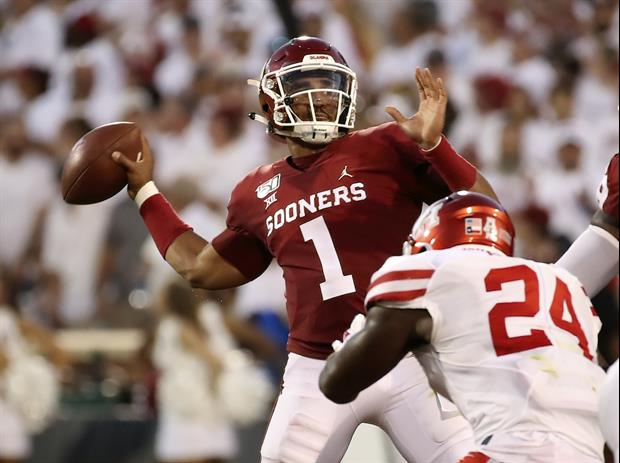 Oklahoma QB Jalen Hurts Had A Very Saban-Like Post-Game Interview With Holly Rowe