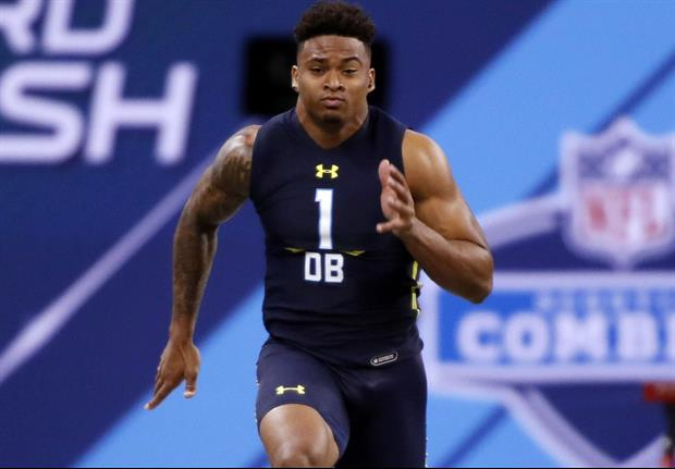 Watch Lsu S Jamal Adams Runs A 4 56 40 Yard Dash At The