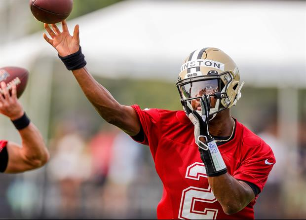 Saints QB Jameis Winston Reveals What He Learned From Drew Brees