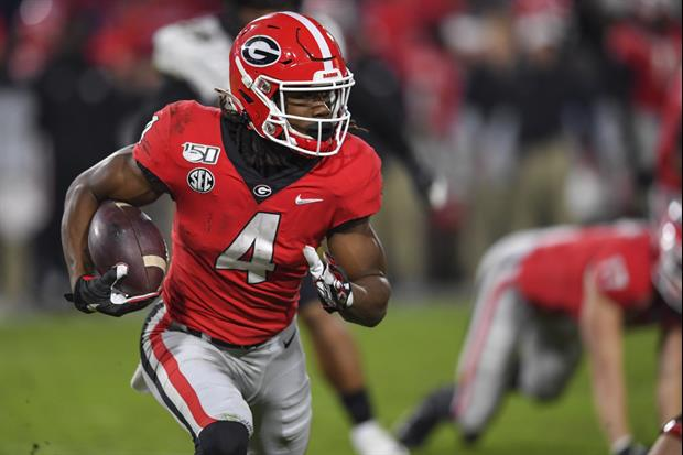 Georgia RB James Cook Was Arrested On Saturday Morning.............................