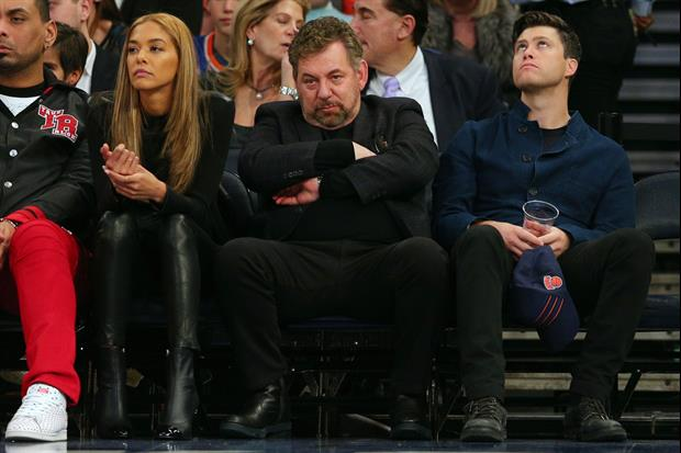 Watch James Dolan Try To Kick Knicks Fan Out Of Music Festival Over 'Sell The Team' Sign