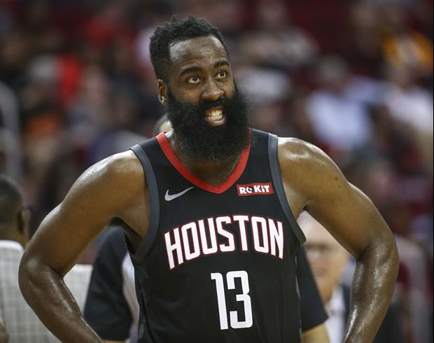 James Harden Looking A Little Too Skinny